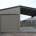 Garage with Open Bay