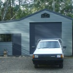 Single Garage and Studio, Lean-to